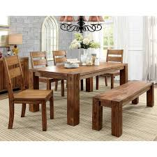 farmhouse furniture style. Furniture Of America Clarks Farmhouse Style Dining Table