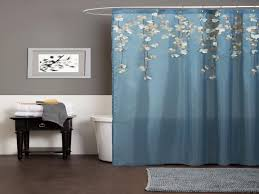 how to hang floor to ceiling shower curtains