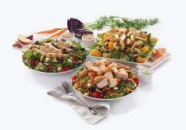 fil a salads