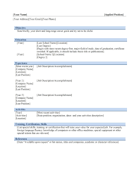 Curriculum Vitae Best Operations Manager Resume Architectural