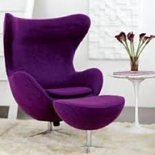 purple accent furniture. looooove this purple chair accent furniture
