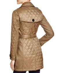 Burberry Brit Goldsmead Quilted Mid Length Trench Coat ... & Burberry Brit Goldsmead Quilted Mid Length Trench Coat Adamdwight.com