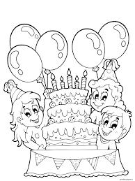 Verjaardag Tekening Maken Kleurplaat Kleurplaat Voor Kinderen