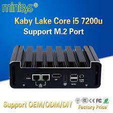 Minisys <b>Intel NUC</b> Мини ПК kabylake I5 7200u процессор ...