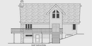 house front drawing elevation view for 10082 a frame house plans house plans with loft
