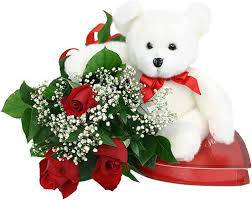 white teddy bears with hearts and roses. Perfect White White Teddy Bear With Red Rose Flower Bears Hearts And Roses