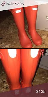 hunter boots size 6 hunter boots these are girls hunter boots size 6 or womens size 7