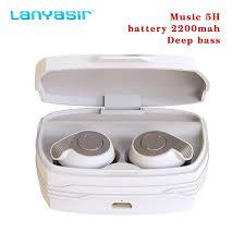 <b>Lanyasir 2019 B7 tws</b> 5h Music Bass Wireless Bluetooth 5.0 ...