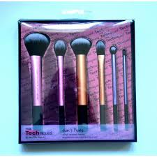 new real techniques makeup brush sam s picks makeup brush set 6 pieces makeup tools