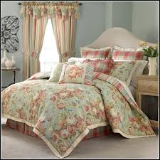 quilts with matching curtains quilt sets luxury choice bedding flowers shades blue white pink orange color