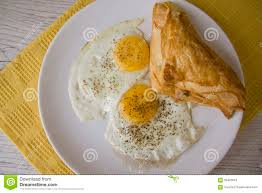 fried eggs or omelette traditional food for many nations healthy and rich in protein