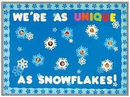 winter bulletin board ideas. Simple Winter WereAsUniqueAsSnowflakesWinterBulletinBoard For Winter Bulletin Board Ideas B