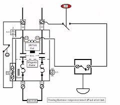air compressor motor starter wiring diagram elec eng world air compressor motor starter wiring diagram