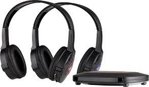 tv headphones wireless. amazon.com: sharper image shp921-2gb universal wireless headphones for tv (pack of 2 headphones), (black): home audio \u0026 theater tv m