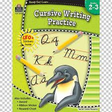 Ready Set Learn Modern Cursive Writing Practice Grd 2 3