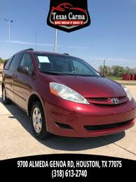 Used 2006 Toyota Sienna CE in Houston