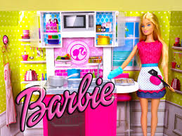 Barbie Kitchen Furniture Barbie Doll Kitchen Cooking Playset Barbie Girl Cooking Toy Food