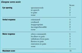 Glasgow Coma Scale Glasgow Coma Scale Clinical Nurse