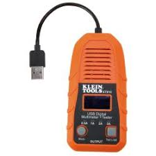 et910 usb digital meter and tester usb a type a