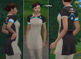 Mod The Sims - AX400 (Kara) Uniform by LadySpira