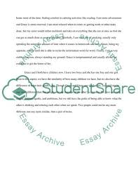Compare And Contrast Twins Essay Example Topics And Well