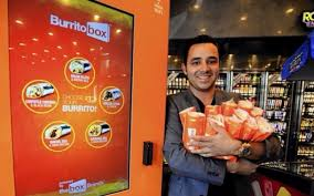 Burrito Vending Machine Delectable The Burrito Box Is A Burrito Vending Machine That Churns Them Out In