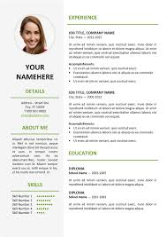 Curriculum Vitae Template Awesome Ikebukuro Elegant Resume Template