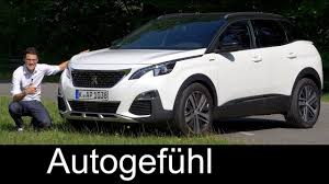 2018 peugeot 3008 review. fine 2018 peugeot 3008 gtline full review 165hp petrol test 2018  autogefhl in peugeot review