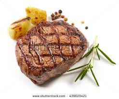 cooked steak with white background. Fine Cooked Grilled Beef Steak With Spices Isolated On White Background 439020421 For Cooked Steak With White Background N