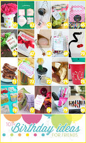 101 birthday ideas for friends 4