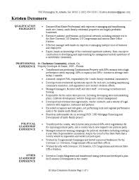 Real Estate Developer Resume Sample United States Government