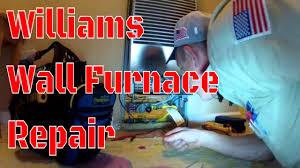 hvac williams wall furnace easy call