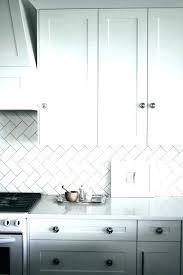 grey and white backsplash white subway tile backsplash