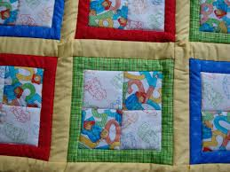 Jen's Crafts and Quilts Scrapbook: 2009 Paddington Bear quilt & I don't have a walking foot yet for my sewing machine (it is on order) so  hopefully that will help me get rid of the bunching that happens when I  quilt with ... Adamdwight.com