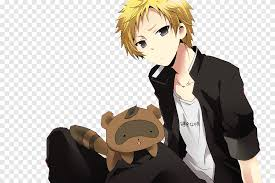 Now, the coolest male anime character of all time: Inu X Boku Ss De Renders A Blonde Male Anime Character Png Pngegg