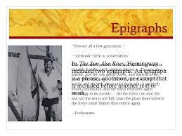 epigrams and epigraphs ppt 3 epigraphs ldquo