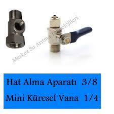 Su arıtma cihazı hat alma aparatı ve vanası 3/8 kolay montaj Fiyatları ve  Özellikleri