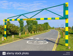 Height Restriction Barriers Design Height Barrier Stock Photos Height Barrier Stock Images