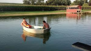 boys-boating | Beaver Creek Farm Cabins