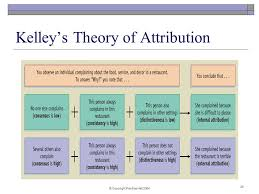 Kelleys Theory Of Attribution Counseling Psychology