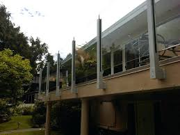 glass deck railing systems no top rail cost