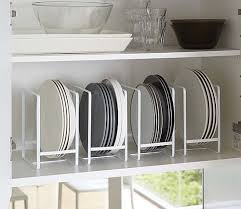 kitchen shelf plate rack luxury stacking shelves for kitchen cabinets new professional grade power