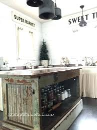 Rustic Kitchen Island Ideas Interesting Inspiration Ideas