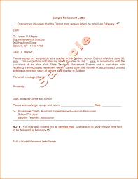 9 Example Of Retirement Letter To Employer Proposal Sample