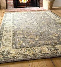 pottery barn scroll rug pottery barn scroll tile rug plow hearth hand tufted wool gray ivory