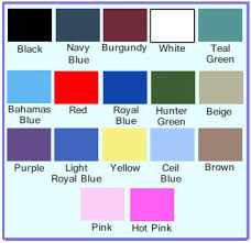 Basic Color Chart For Kids Kids Doctor Costume Size Chart Kids Doctor Costumes