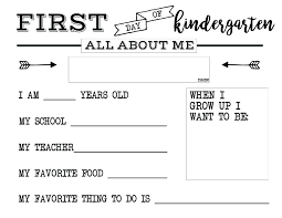 All About Me Worksheets Pdf All About Me Worksheet Kindergarten Jodiemoss Club
