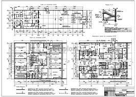 Дипломный проект ПГС супермаркет Планы этажей Фрагменты плана Разрез 4 4
