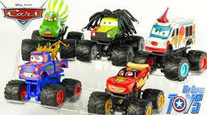 Disney Pixar Cars Toon Tormentor Mater Monster Truck Mater's Tall ...