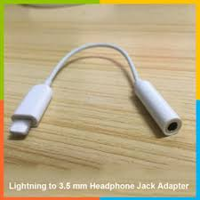 iphone jack adapter. lightning to 3.5 mm headphone jack adapter for iphone 7/7plus j